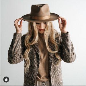 Gigi Pip Monroe Rancher Hat in Brown